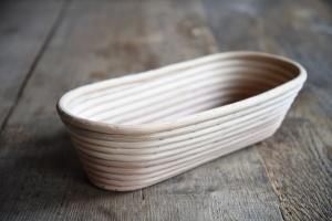 Gärkorb lang aus Peddigrohr für Brote bis 750 g