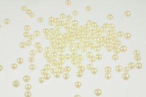 Zuckerperlen, 5 mm, perlmutt, 100-g-Dose