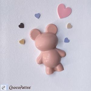 Schokoladenform Bärchen, M, 12x8x3 cm