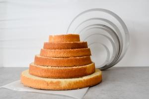 Tortenring Alu, 38 cm Durchmesser, 7 cm hoch