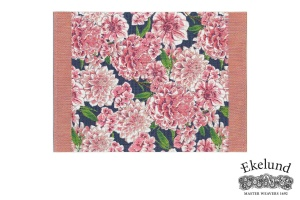 Tischset, Dahlien, 100 % Bio Baumwolle, 35x48 cm