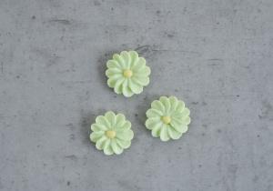 Zuckerblumen, hellgrün, 36 Stück