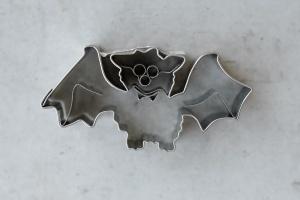Ausstecher Fledermaus, Edelstahl, 6 cm