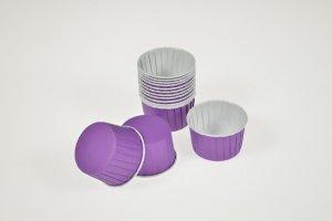 CupCake-Becher, lila, 24 Stck., Ø 6 cm, Höhe 4 cm