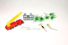Feuerwehr-Set für Thementorten