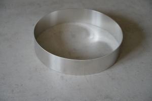 Tortenring Alu, 28 cm Durchmesser, 6 cm hoch