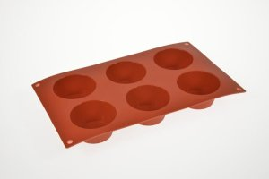 Muffin-Backform für 6 große Muffins Ø 7 cm