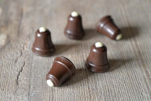 Glocken-Hohlkörper Zartbitter  63 Stück