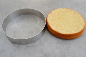 Tortenring Alu, 26 cm Durchmesser, 6 cm hoch