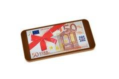 Schokoladen-Geldschein 50 Euro, Geschenkpackung, 40 g