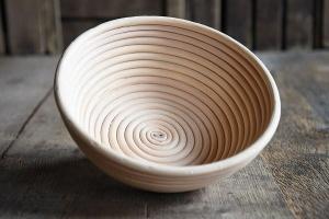 Gärkorb rund aus Peddigrohr für Brote bis 750 g