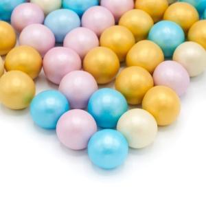 Schokokugeln Shiny Pastells XXL, bunt, Ø1 cm, 135 g