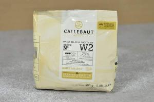 Callebaut W2 Weiße Schokolade 400 g