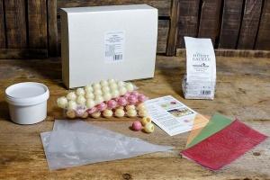 Geschenk-Box: Fruchtige Pralinen mit Knuspereffekt