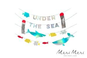 Meri Meri Girlande Unterwasser, 480x16 cm, 4-tlg.