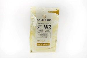 Callebaut W2 Weiße Schokolade 2,5 kg