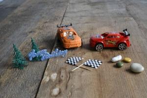 Rennwagen-Set für Thementorten