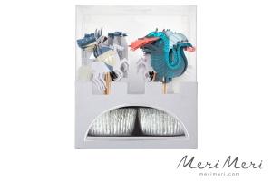 Meri Meri Cupcake Kit Ritter & Drache, Muffinform + Deko