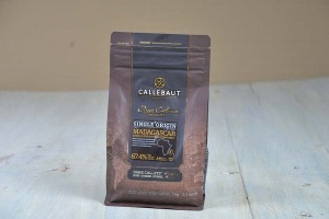 Callebaut Single Origine Madagascar dunkel 67,4 %,1 kg