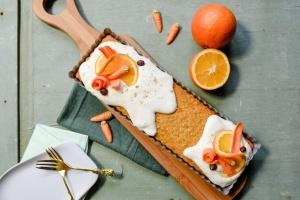 Ausgewählte Zutaten für Karotten-Tarte