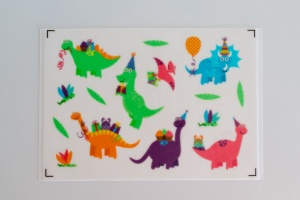 Kuchen Tattoo Dinosaurier