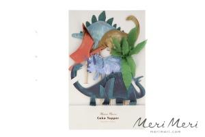 Meri Meri Cake Topper Dino, 6 Stk., Höhe max. ca. 25 cm