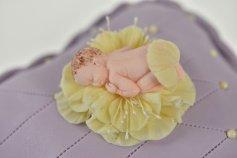 Modellierform -Baby auf Bauch liegend-,