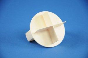 Stern- und Laugenbrötchendrücker aus Kunststoff ca. 6,5 cm