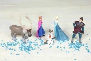 Frozen-Set für Thementorten 5-tlg.