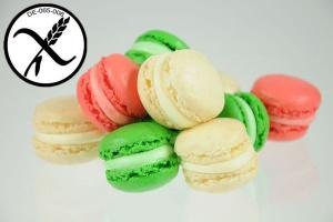 Glutenfreie Macarons weiß, 500 g
