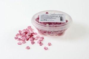 Zucker-Herzchen -Batik- rosa, 11 mm, 100 g-Dose-ausverkauft-