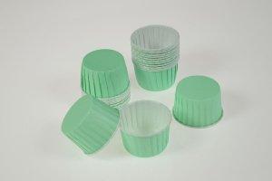 CupCake-Becher, hellgrün, 24 Stck., Ø 6 cm, Höhe 4 cm