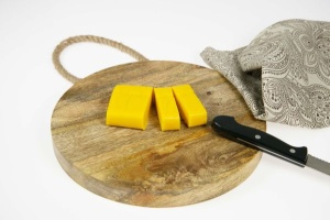 Marzipan - gelb - 250 g   -   Farbänderung