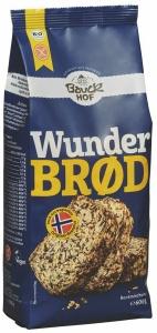 Glutenfreie Mischung für Wunderbrød, Bio, 600 g