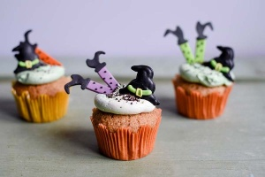 Hexen - Set aus Zucker, 6 Stück