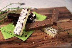 Silikonform für Schokoladenriegel 13 x 30 cm
