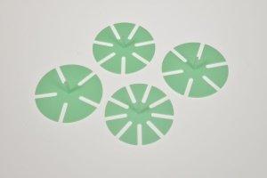 Torteneinteiler klein, 4 Stück, für 5 + 6 + 7 + 9 Stücke