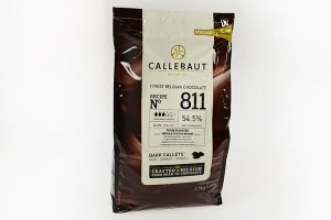 Callebaut 811 Dunkle Schokolade 2,5 kg