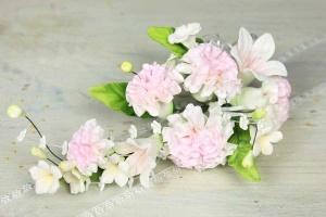 Zucker-Nelken rosa, 21 cm