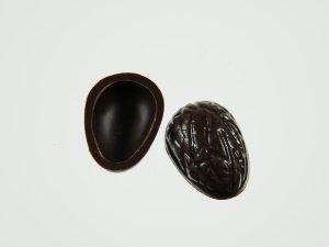 Walnuss-Schalen für Pralinen Zartbitter  60 Stück