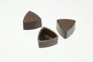 Dreieck-Schalen Zartbitter, 56 Stück