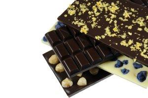 Gießform Schokoladen-Tafel traditionell (für 100g)