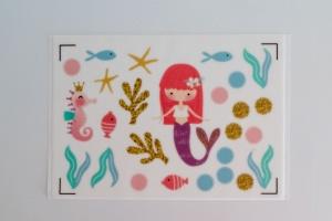 Kuchen Tattoo Meerjungfrau