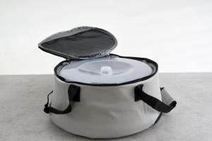 Isolier-Tragetasche für Springform mit Porzellan-Platte