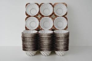 Muffin-Papierbackformen, weiß, 120 Stück