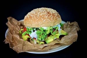 Silikonbackformen für 6 Burger Brötchen, Ø 10 cm , Höhe 2 cm