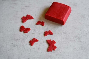 Marzipan - rot - 250 g