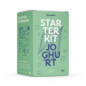 Starter Kit: Joghurt-Set Vegan