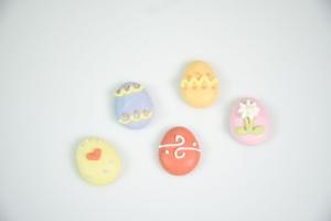 Ostereier-Set aus Zucker ca. 2,5 cm  -bunt- 20 Stück