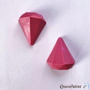 Schokoladenform Diamant, M, 8x7,5x4 cm
